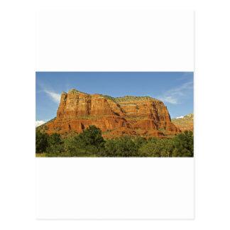 Sedona Mountains Courthouse Postcard