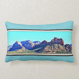 Sedona Mountains Custom Throw Pillow
