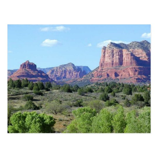 Sedona Mountains Postcard