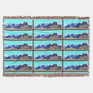 Sedona Mountains Throw Blanket