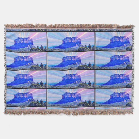 Sedona Pop Art Throw Blanket