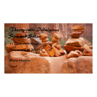 Sedona Rocks in Balance Double-Sided Standard Business Cards (Pack Of 100)