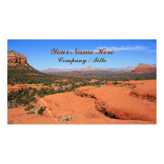 Sedona Valley Pack Of Standard Business Cards