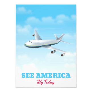 See America - Fly today! Art Photo