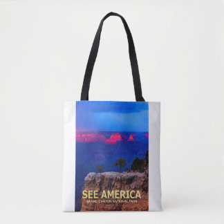 """See America"" Grand Canyon National Park Tote"