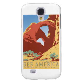 See America Poster Galaxy S4 Case