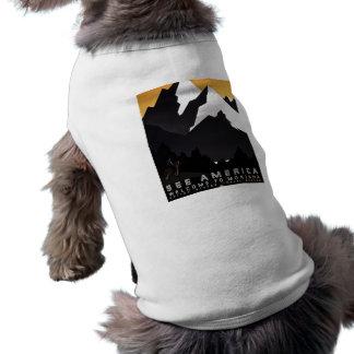 See America Welcome to Montana Sleeveless Dog Shirt