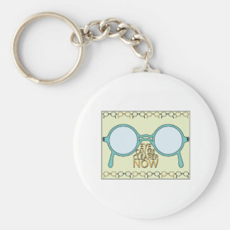 See Clearer Now Keychain