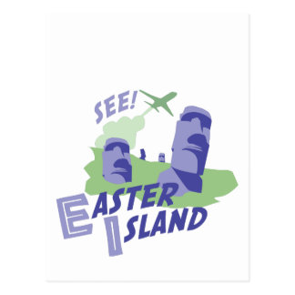 See! Easter Island Postcard