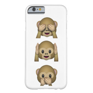 See, Hear and speak no evil phone case Barely There iPhone 6 Case