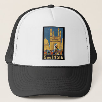 See India Poster Trucker Hat