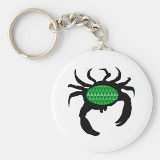 SEE IT MOVE BASIC ROUND BUTTON KEY RING