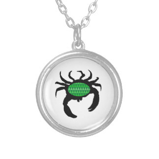 SEE IT MOVE ROUND PENDANT NECKLACE
