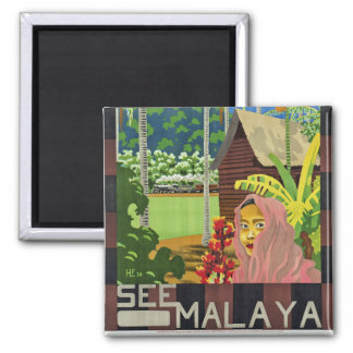 See Malaya Square Magnet