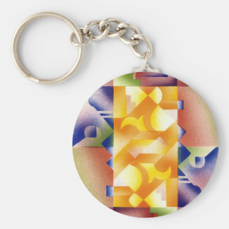 See Me? Basic Round Button Key Ring