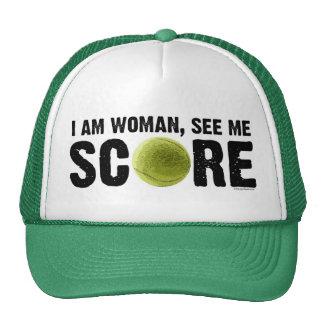 See Me Score - Tennis Hat
