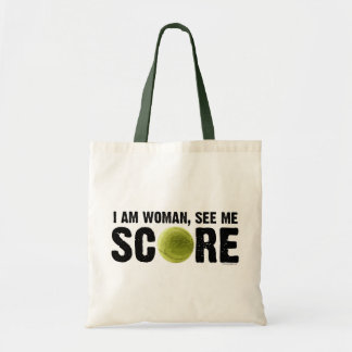 See Me Score - Tennis Tote Bag