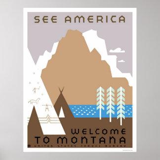 See Montana America 1938 WPA Print