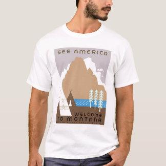 See Montana & America 1938 WPA T-Shirt