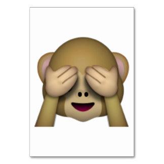 See No Evil Monkey - Emoji Card