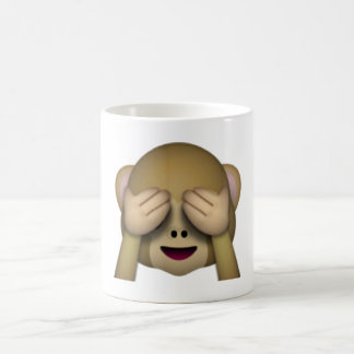 See No Evil Monkey - Emoji Coffee Mug