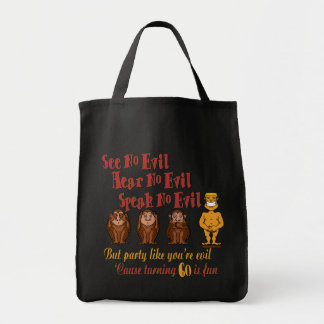 See No Evil Party 60th Tote Bag