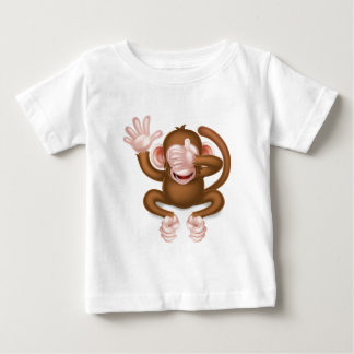 See No Evil Wise Monkey Baby T-Shirt