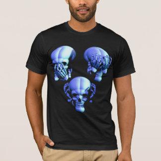 See No, Hear No, Speak No Evil Skulls Shirt
