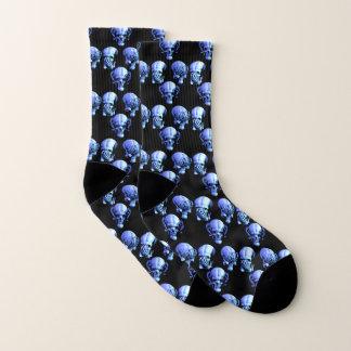 See No, Hear No, Speak No Evil Skulls Socks 1
