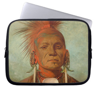 See-non-ty-a, an Iowa Medicine Man, 1844 Laptop Sleeve