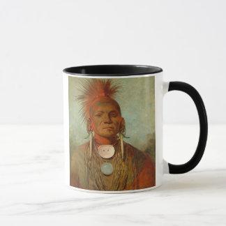 See-non-ty-a, an Iowa Medicine Man, 1844 Mug