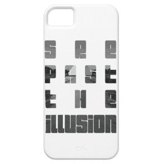 see past the illusion by KylaCher studio Barely There iPhone 5 Case