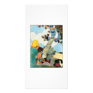 See-saw, Margery Daw, Customized Photo Card