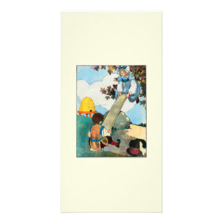 See-saw Margery Daw Picture Card