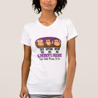 See Speak Hear No Alzheimers Disease 1 T Shirt