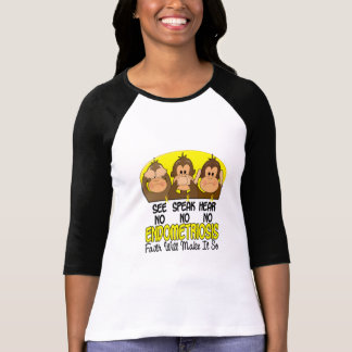 See Speak Hear No Endometriosis 1 T-Shirt