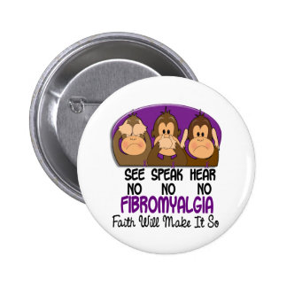 See Speak Hear No Fibromyalgia 1 Pins
