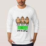 See Speak Hear No Non-Hodgkins Lymphoma 3 T-shirt