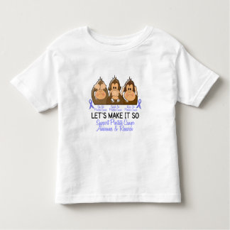 See Speak Hear No Prostate Cancer 2 Toddler T-Shirt