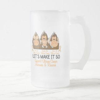 See Speak Hear No Uterine Cancer 3 Coffee Mugs