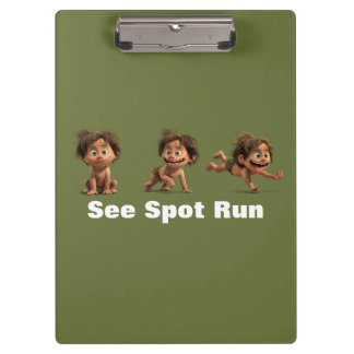 See Spot Run Clipboard