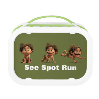 See Spot Run Lunch Box