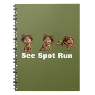 See Spot Run Spiral Notebook