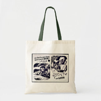 See That He Gets Those Spare Parts Now Not Later Budget Tote Bag
