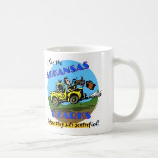 See the Arkansas Ozarks Basic White Mug