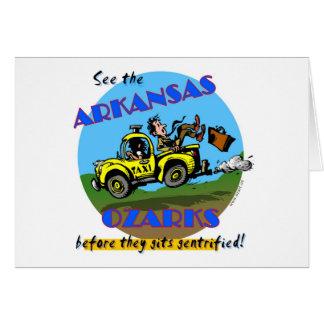 See the Arkansas Ozarks Greeting Card