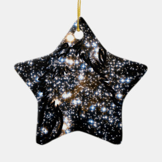 See The Dog in Space Christmas Ornament