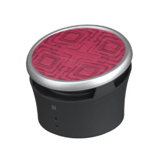 See The Forest Abstract Art Pink Speaker