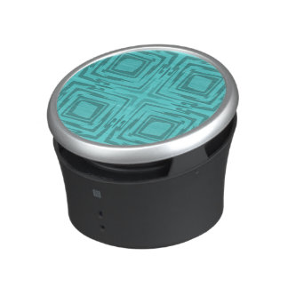 See The Forest Abstract Art Turquoise Speaker