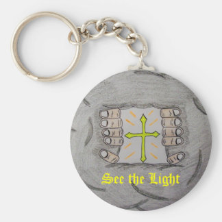 See the Light Keychain